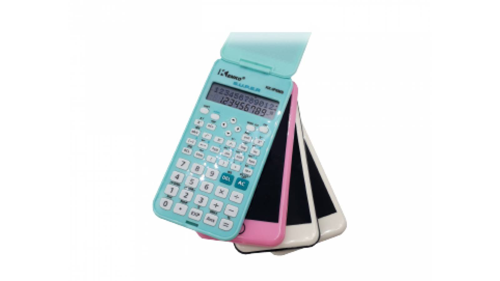 CALCULADORA BASICA SOLAR ESTILO IPHONE