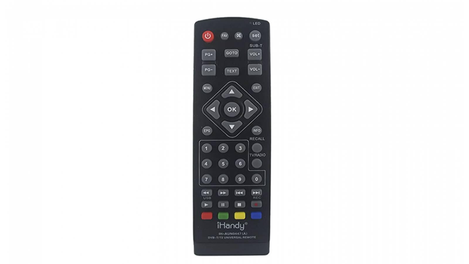CONTROL REMOTO UNIVERSAL PARA SINTONIZADOR DIGITAL Y ANDROID TV