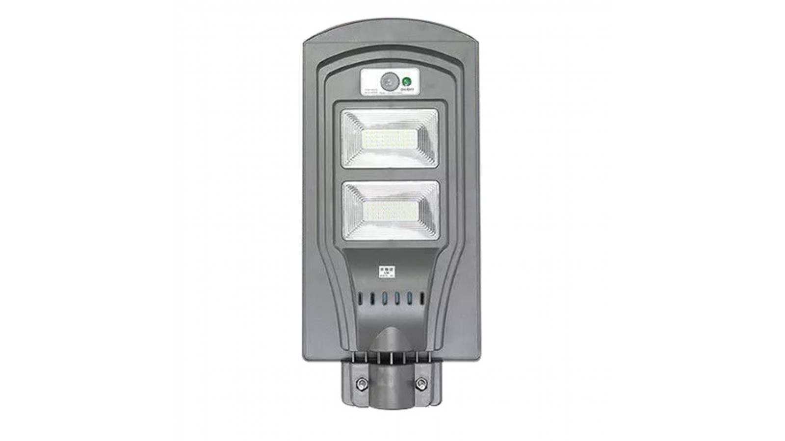 FOCO LED 40W SOLAR PARA EXTERIOR