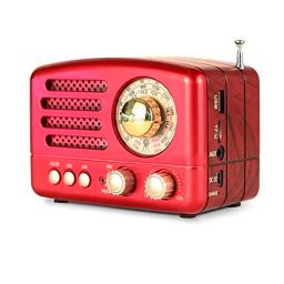 RADIO PORTATIL RETRO CON BLUETOOTH